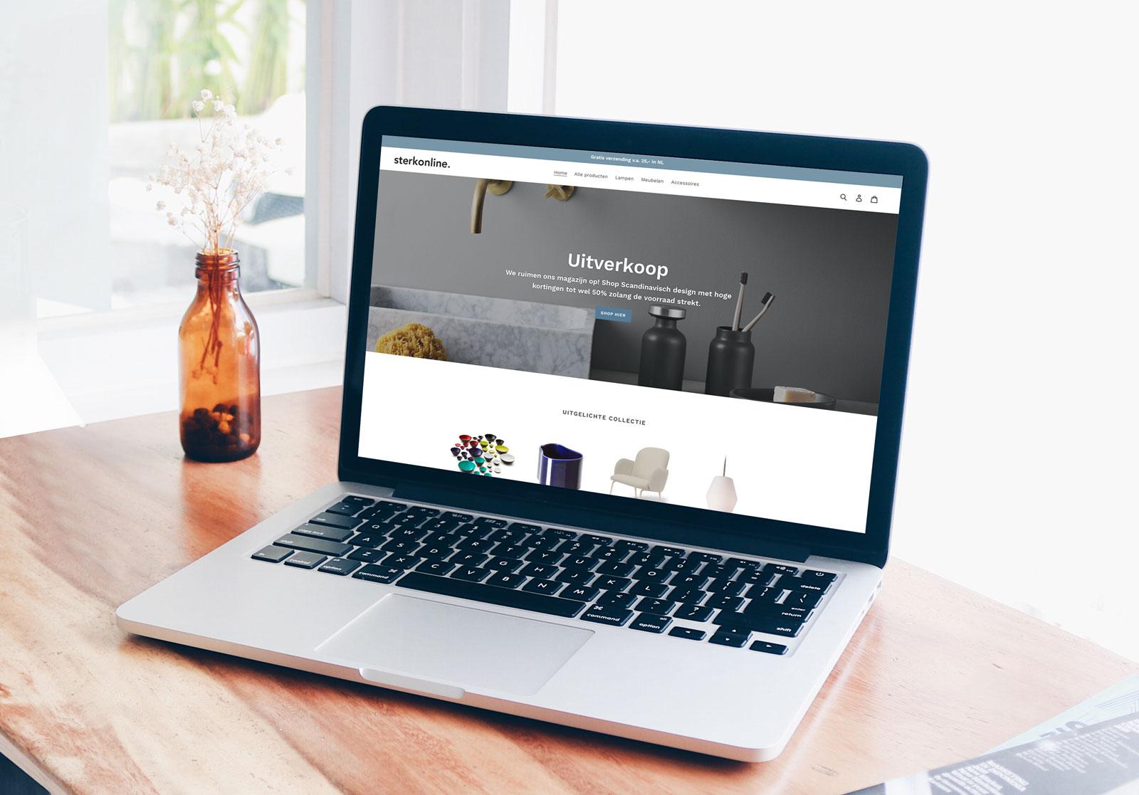 Sterk Online - Shopify