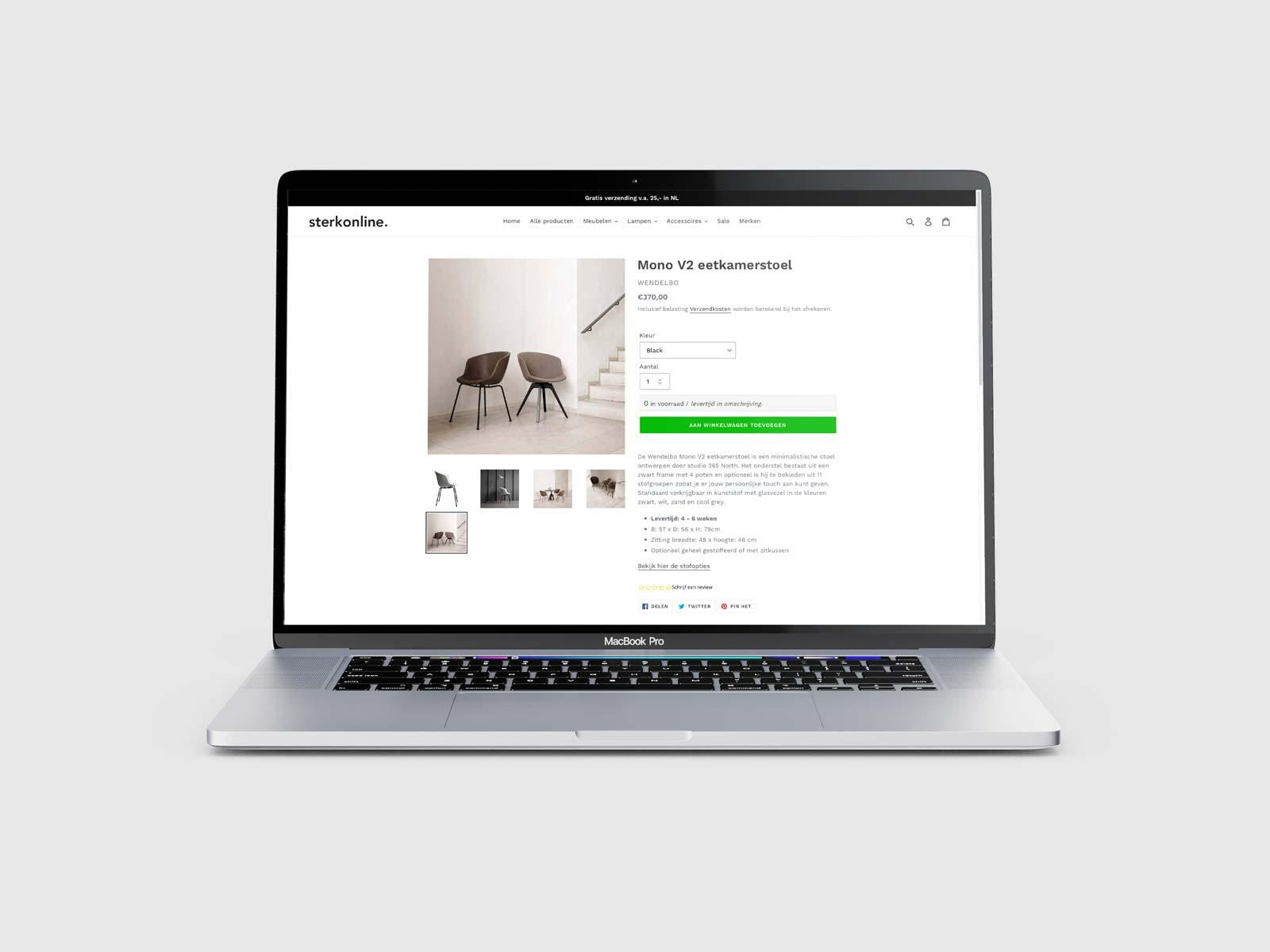 sterkonline-website